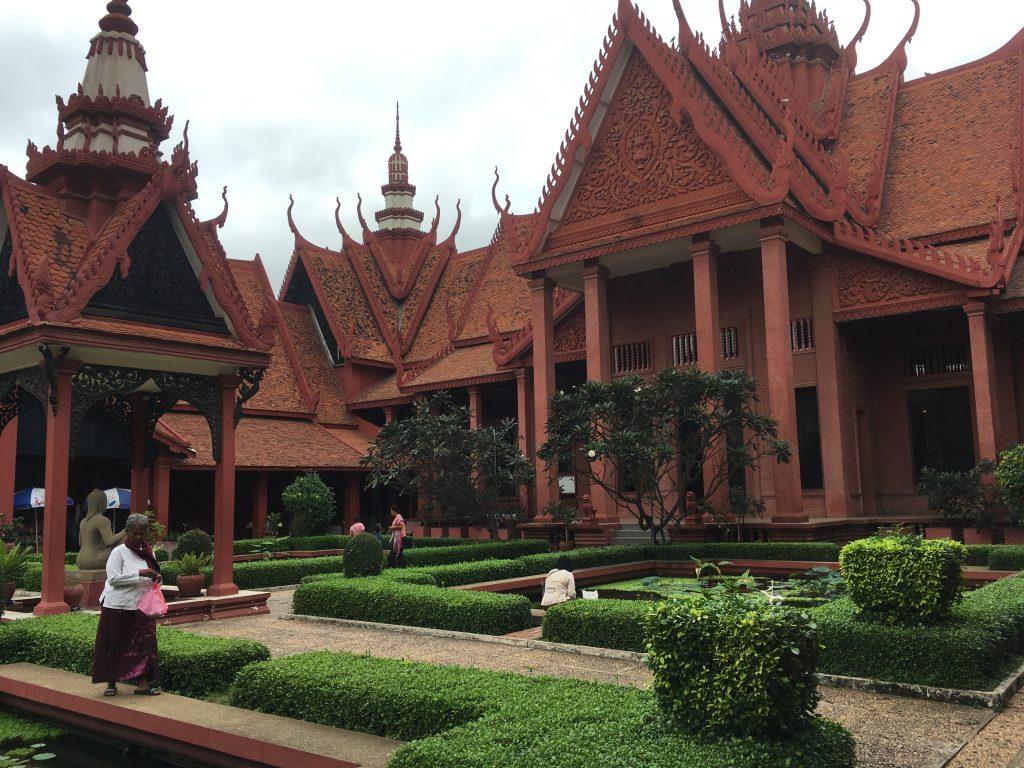 Museo Nacional de Phnom Penh - Camboya