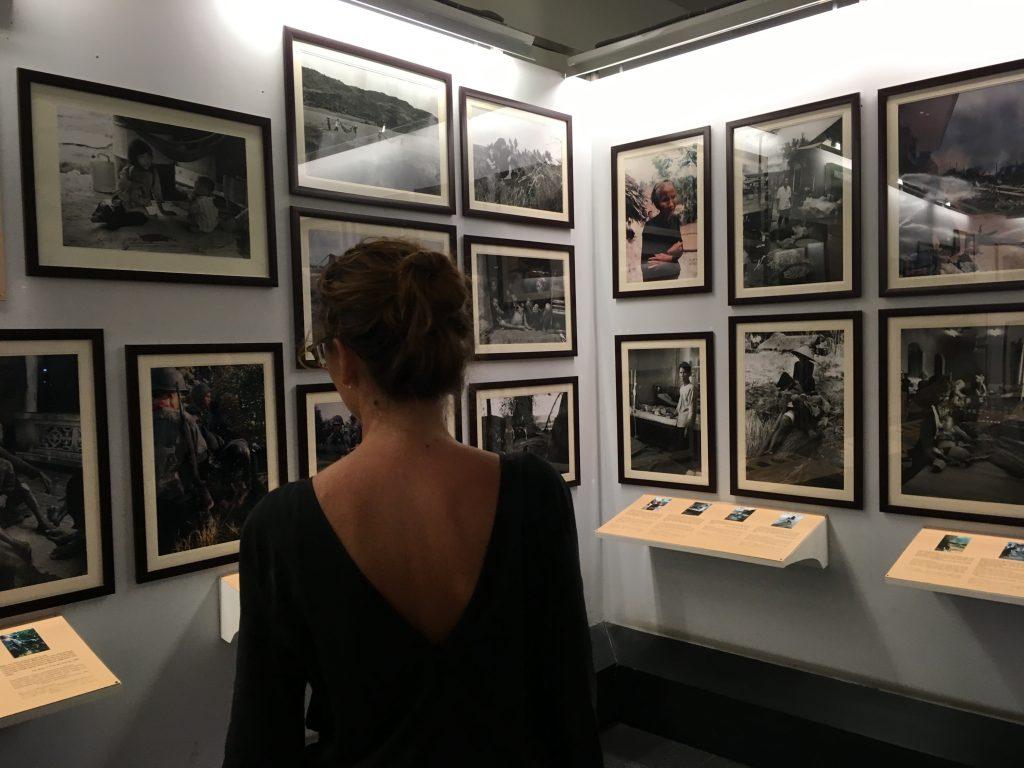 Dentro del Museo de la Guerra - Saigon (Vietnam)